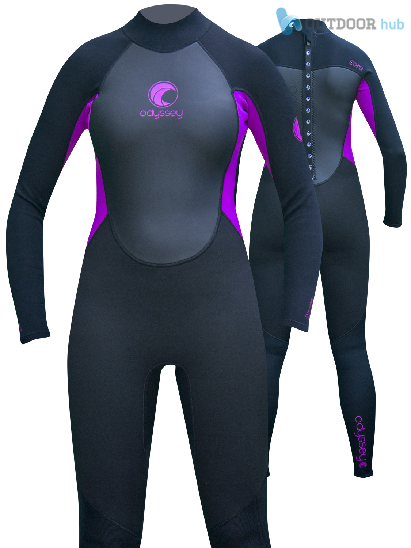 Odyssey-Core-3-2mm-Ladies-Womens-Full-Wetsuit-Surf-Swim-Kayak-Long-Wet-Suit-6-20 thumbnail 24