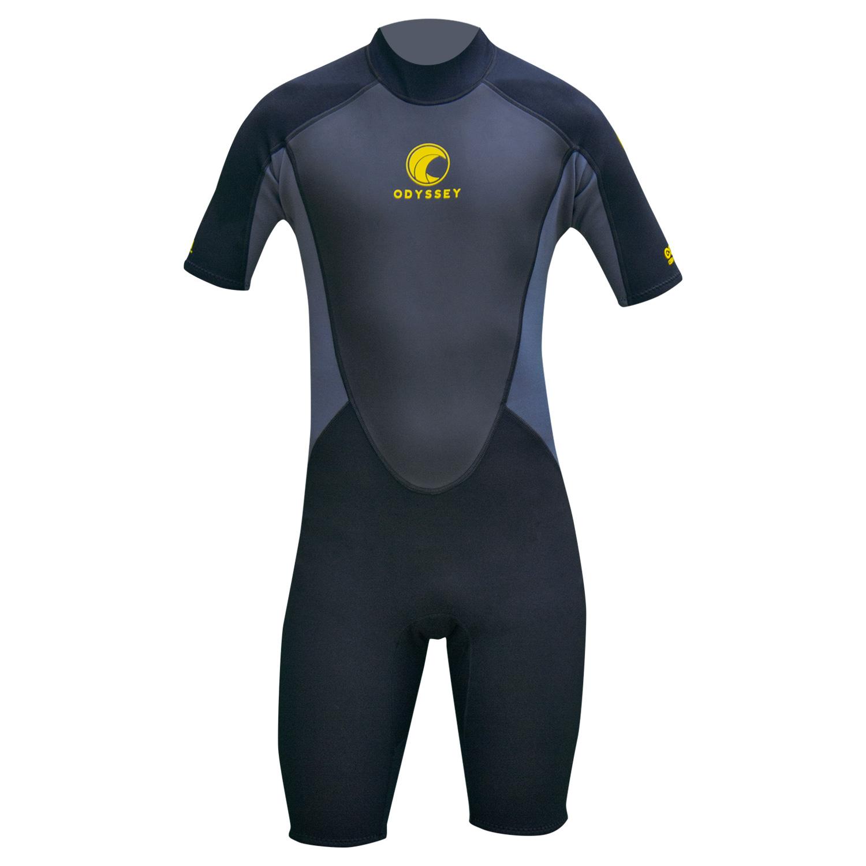 Odyssey-Core-3-2mm-Mens-Shorty-Wetsuit-Surf-Swim-Kayak-Shortie-Wet-Suit-S-XXL thumbnail 24