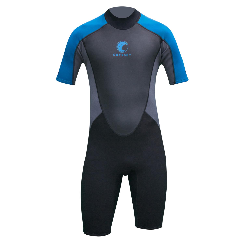 Odyssey-Core-3-2mm-Mens-Shorty-Wetsuit-Surf-Swim-Kayak-Shortie-Wet-Suit-S-XXL thumbnail 9