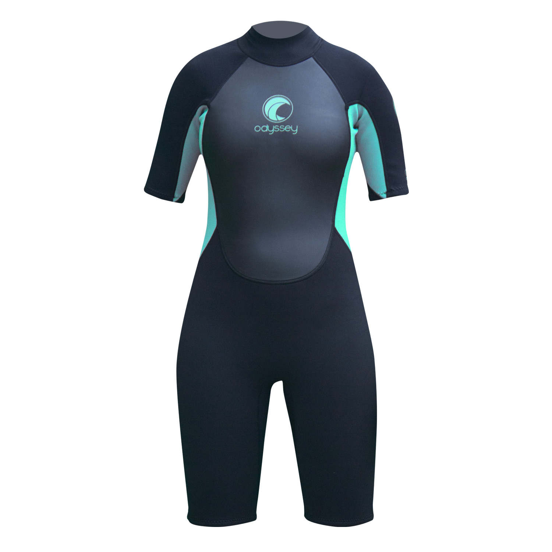 Odyssey-Core-3-2mm-Ladies-Womens-Shorty-Wetsuit-Surf-Swim-Kayak-Shortie-Wet-Suit thumbnail 7