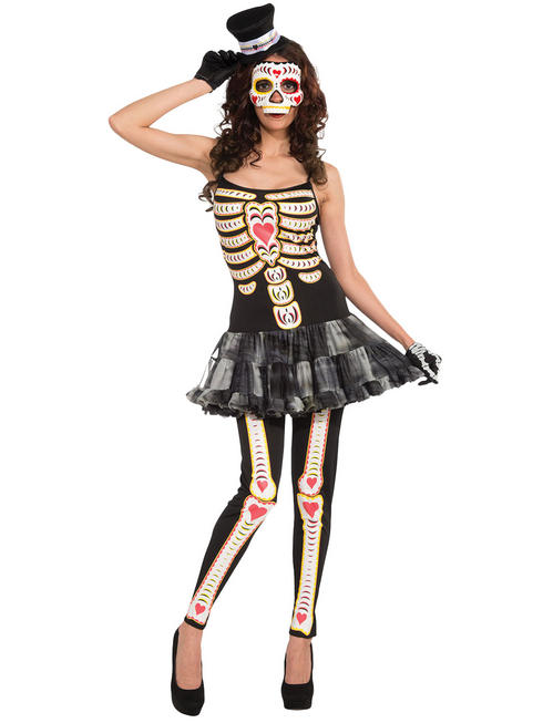 Ladies Day of the Dead Tutu