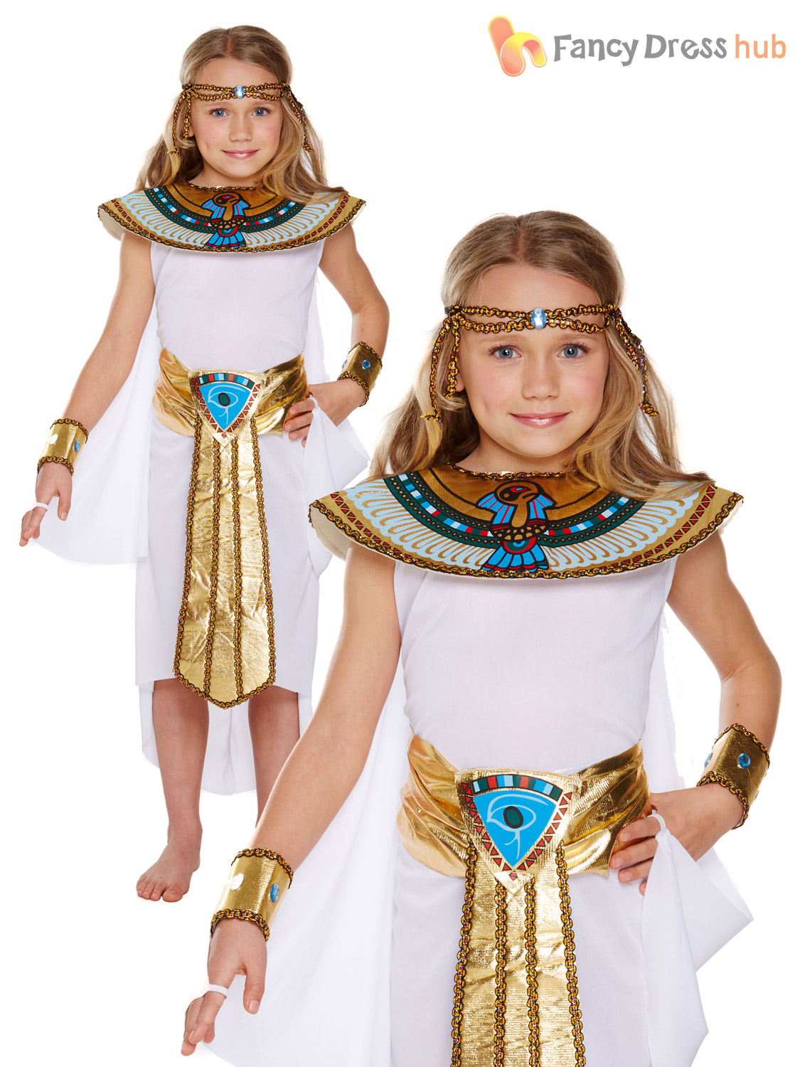 Girls-Boys-Egyptian-King-Queen-Book-Week-Historic-Fancy-Dress-Costume-School