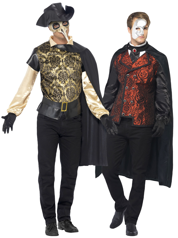Adult mens halloween masked vampire venetian masquerade ball fancy image 2 solutioingenieria Images