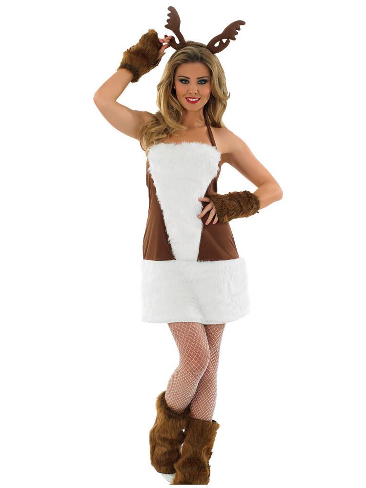 Ladies Sexy Reindeer Costume