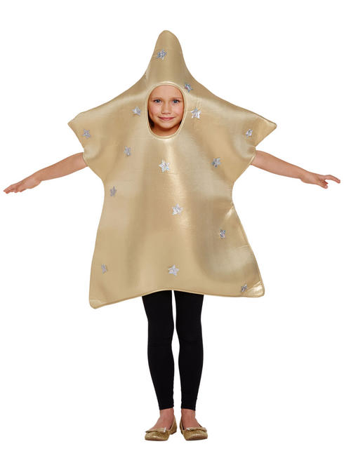 Kid's Golden Star Costume