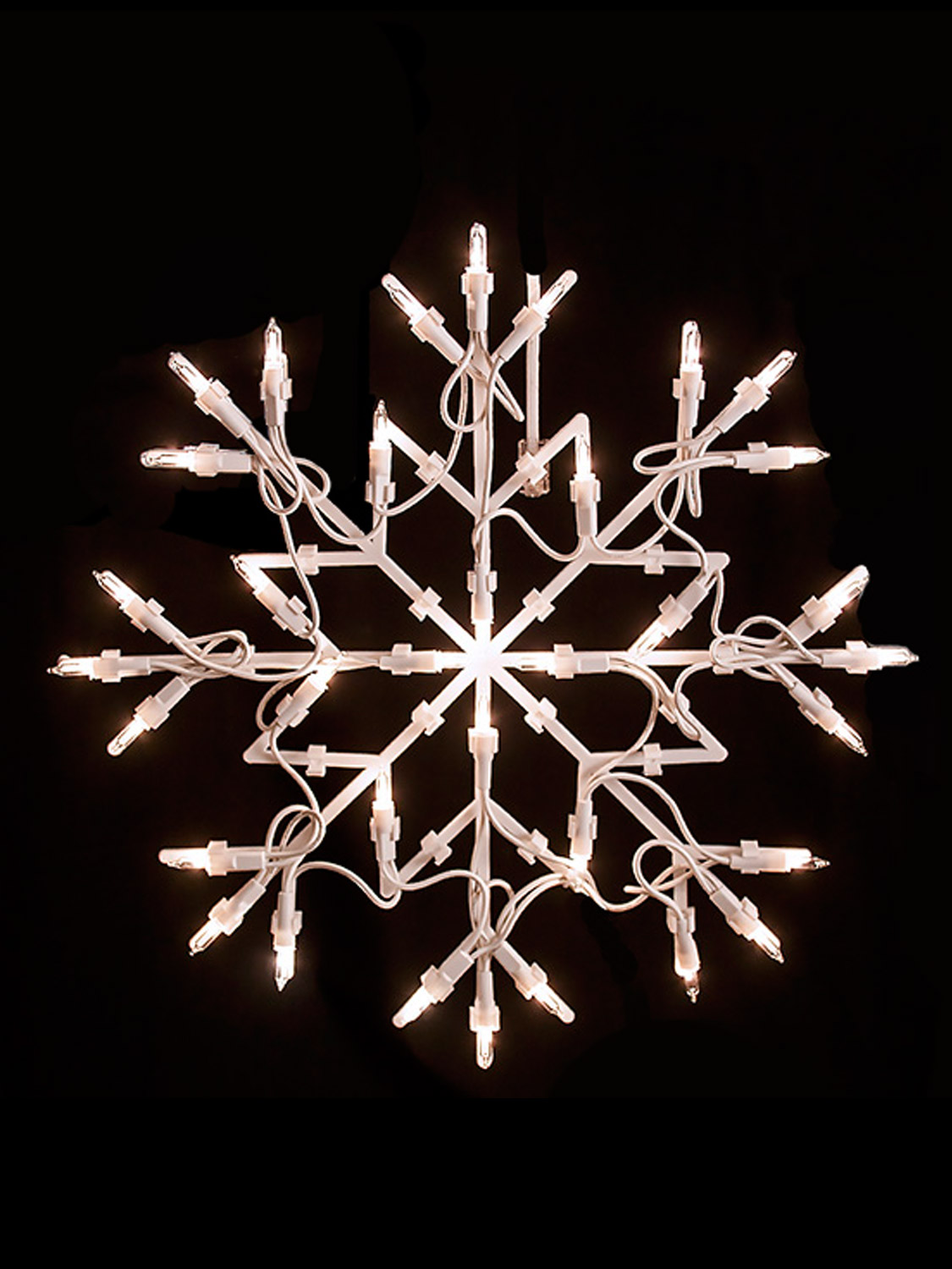 christmas light shapes window snowflake star merry christmas