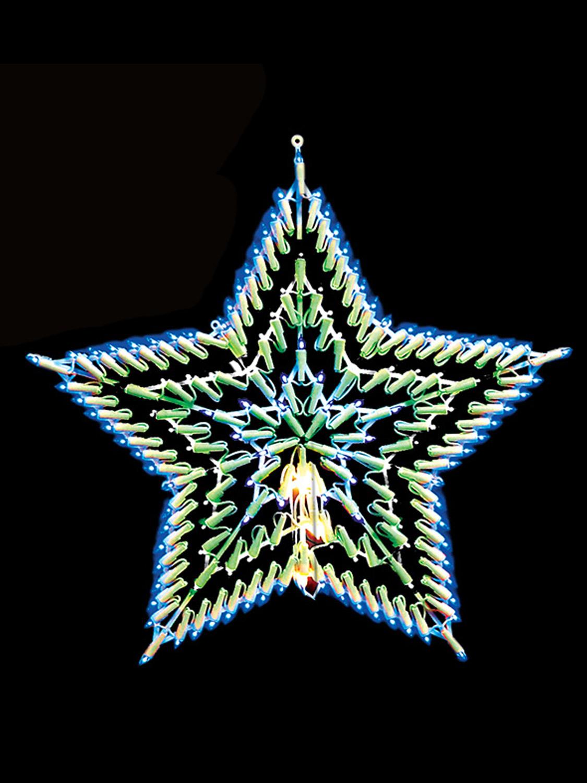 Christmas Snowflake Star Window Merry Christmas Decoration ...