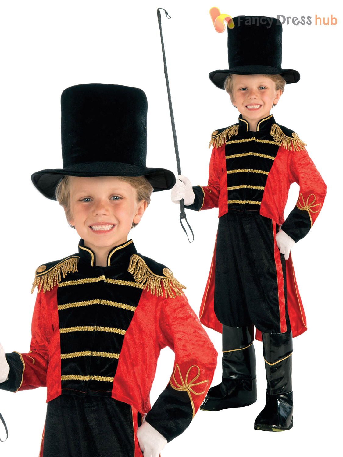 ... circus performer costume · age 4 8 boys ring master fancy dress ...  sc 1 st  Best Kids Costumes & Circus Costume For Kids - Best Kids Costumes