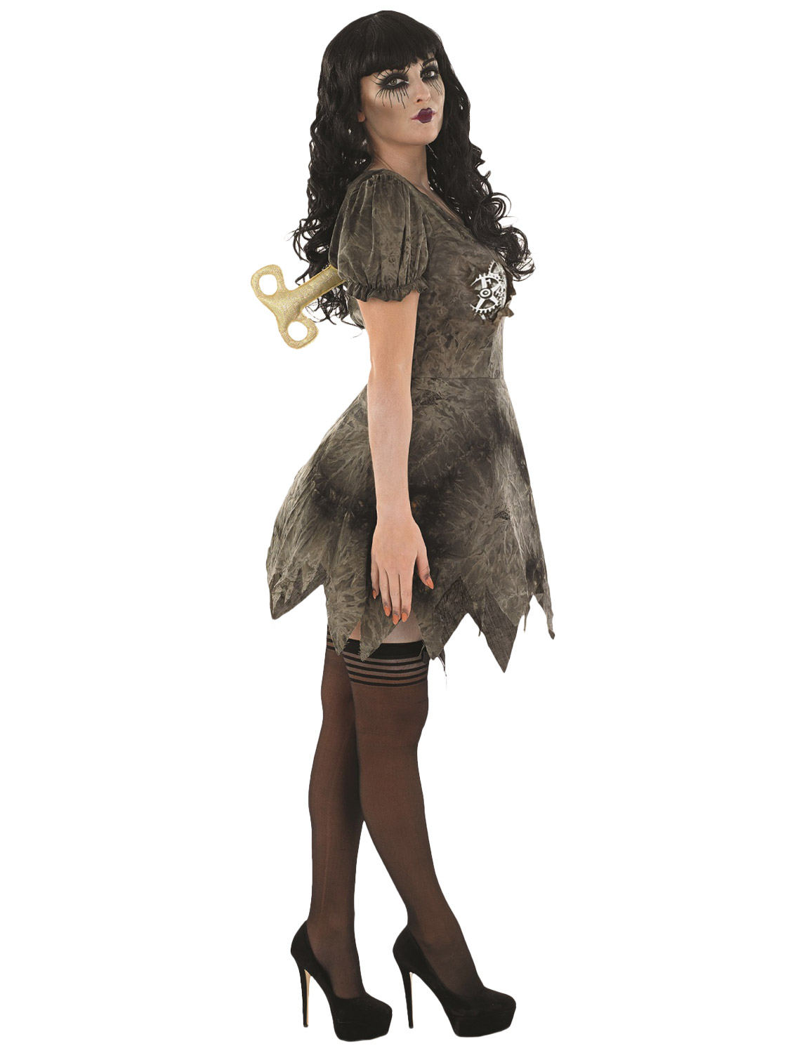 9ef63015d54c5 Ladies Wind Up Doll Costume | All Halloween | Fancy Dress Hub