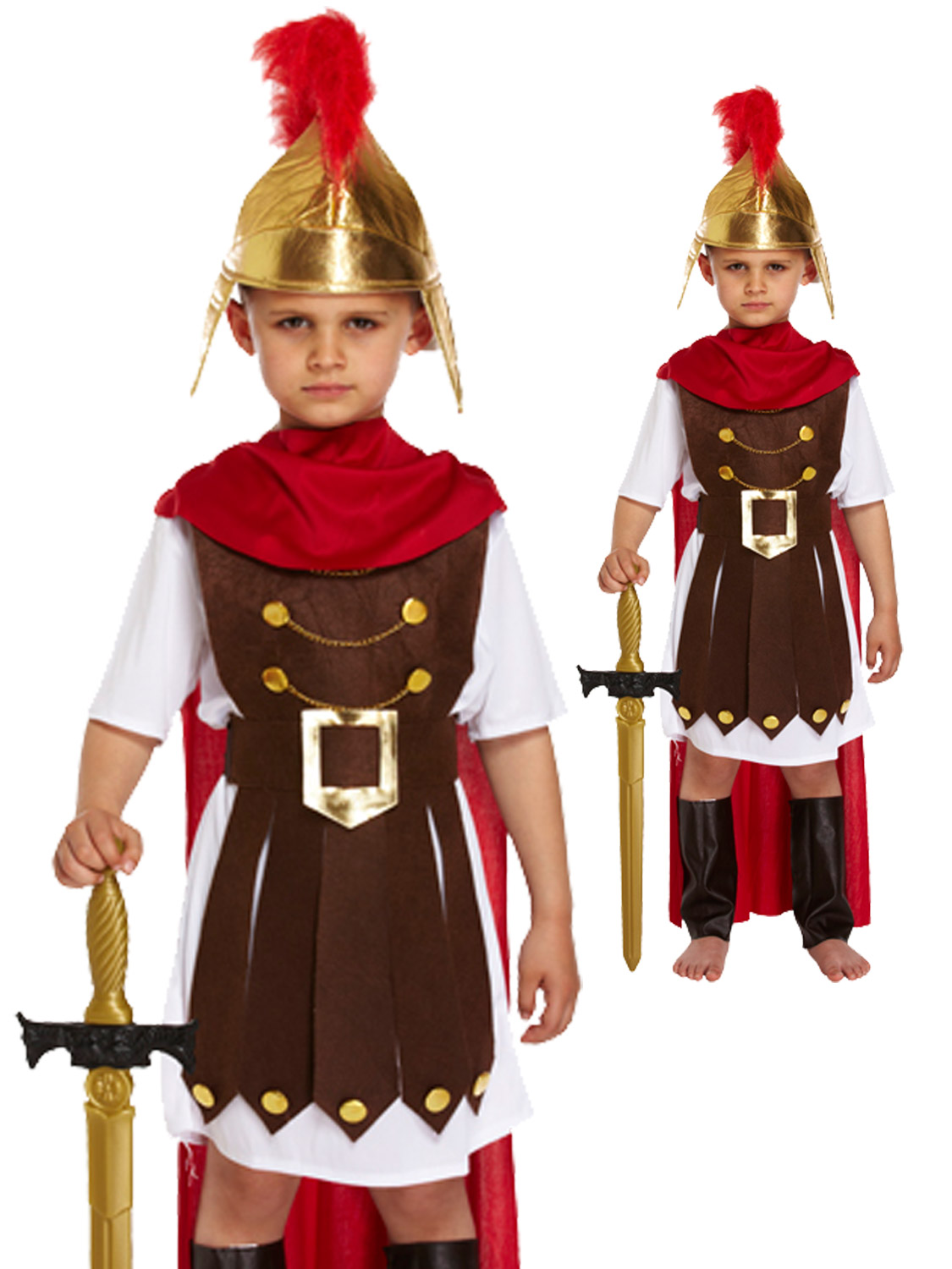Boy's Roman General Costume | All Children