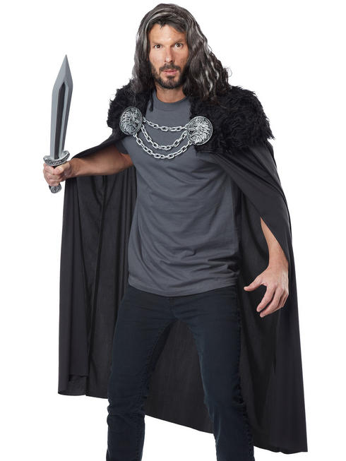 Men's Wolf Clan Game of Thrones Cape