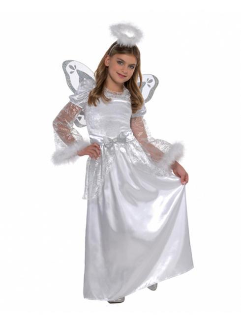Girl's Deluxe Angel Costume