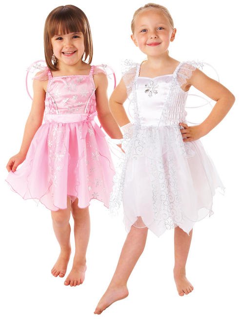 Girl's White Fairy Costume