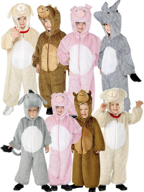 Kids Animal Nativity Costume
