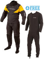 Equator Grey / Yellow Hinge Drysuit & Undersuit