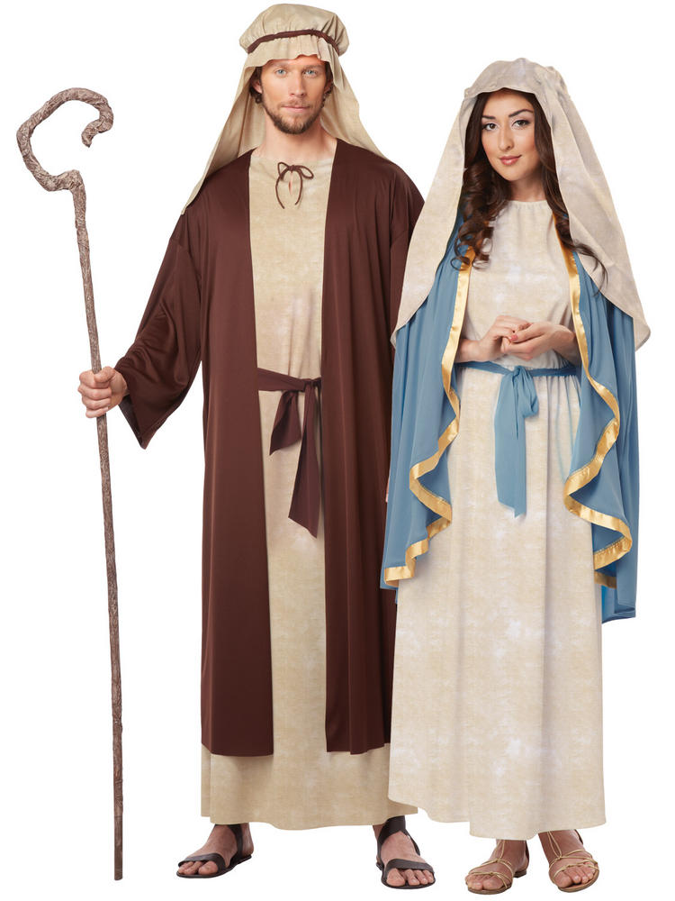 Ladies Virgin Mary or Men's Saint Joseph Costume