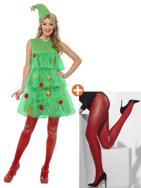 Ladies Christmas Tree Tutu