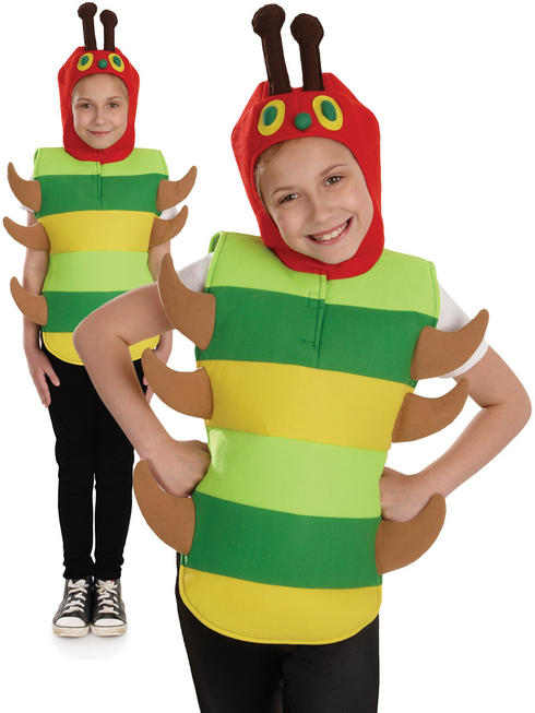 Kids Very Hungry Caterpillar Costume