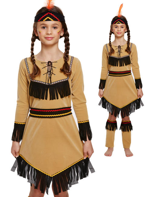 Girl's American Indian Costume