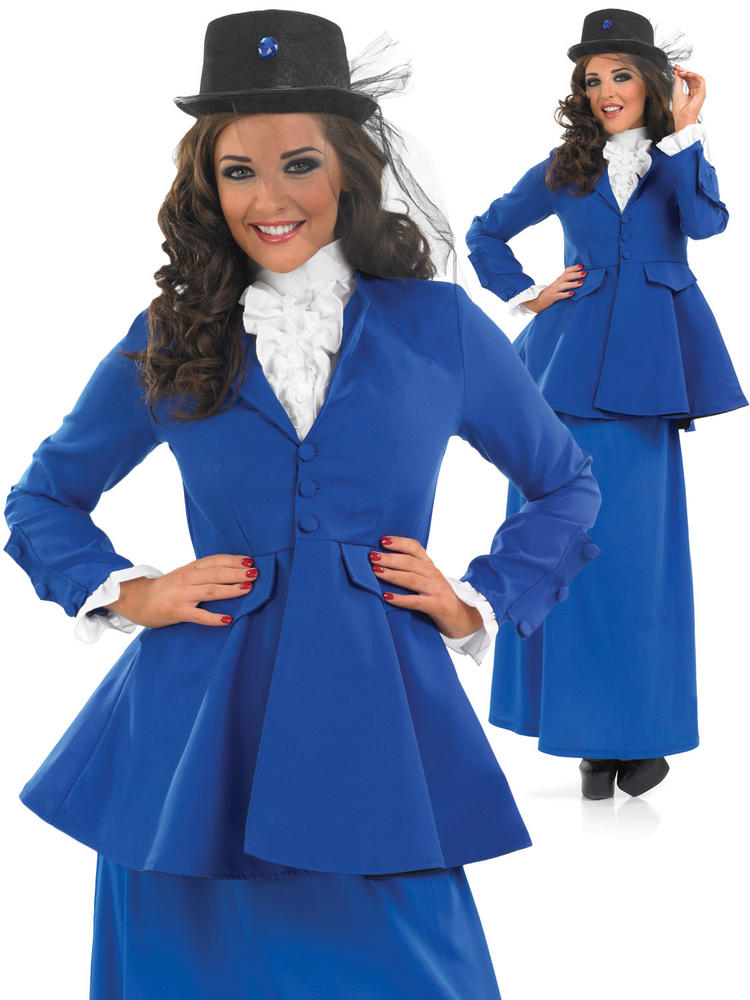 Ladies Mary Poppins Costume