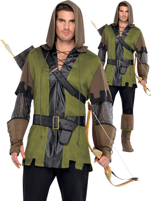 Men's Prince of Thieves Costume