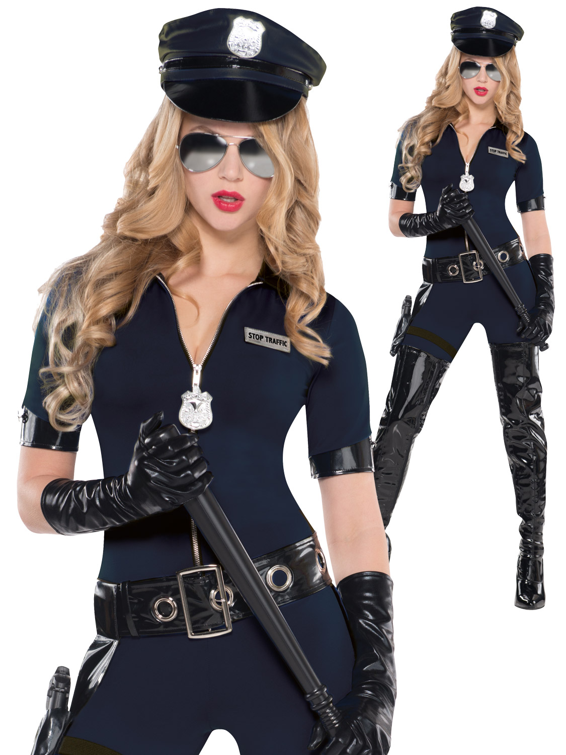 Ladies Sexy Police Women Costume  All Ladies  Fancy -1729
