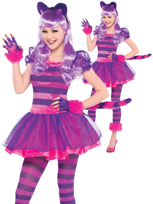 Girl's Cheshire Cat Costume