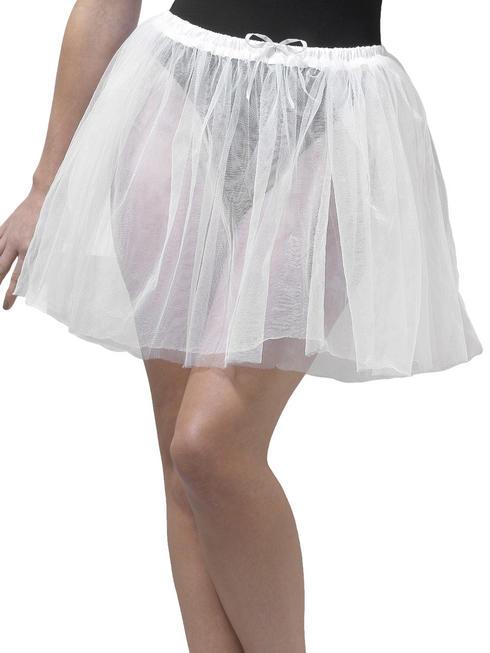 Ladies White Longer Length Petticoat