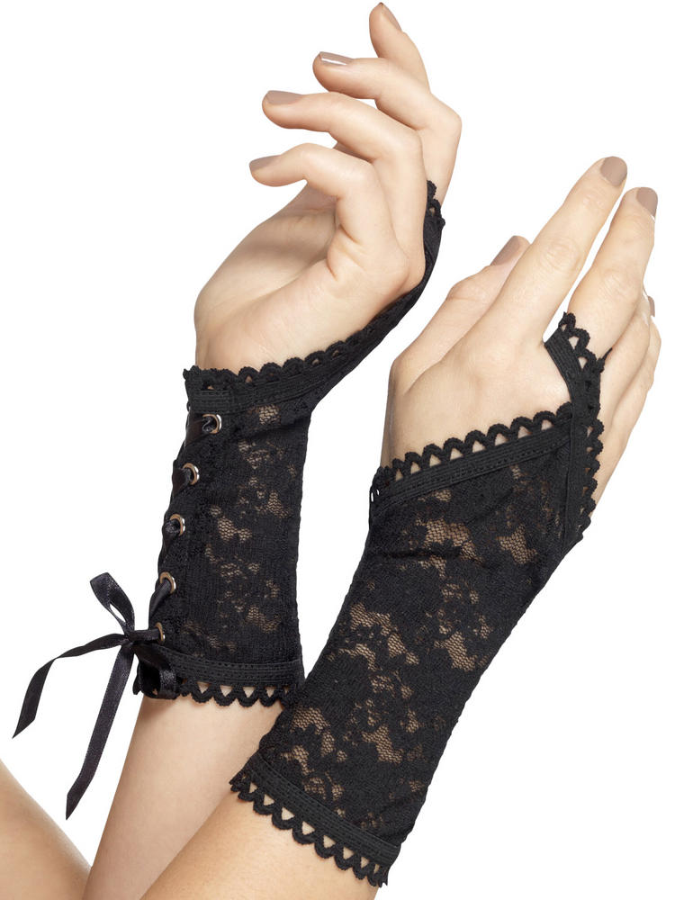 Ladies Lace Glovelettes