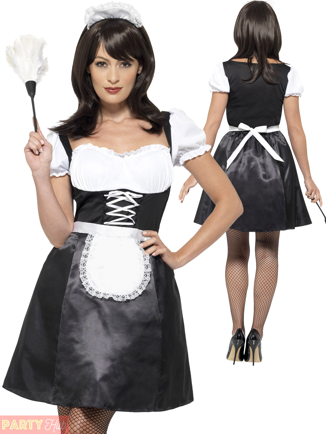 Adults french maid costume ladies sexy cleaner fancy dress womans adults french maid costume ladies sexy cleaner fancy solutioingenieria Gallery