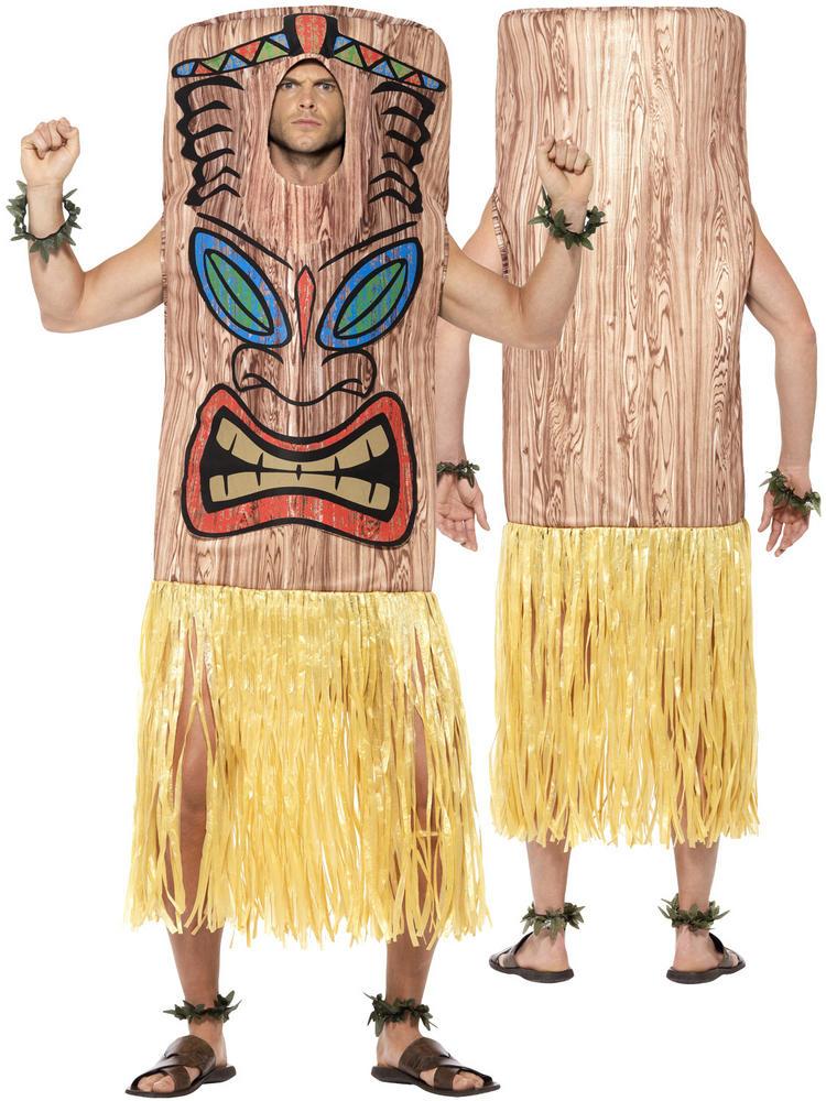 Adult's Tiki Totem Pole Costume