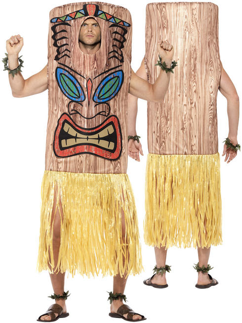 Adult's Tiki Totem Pole Costume