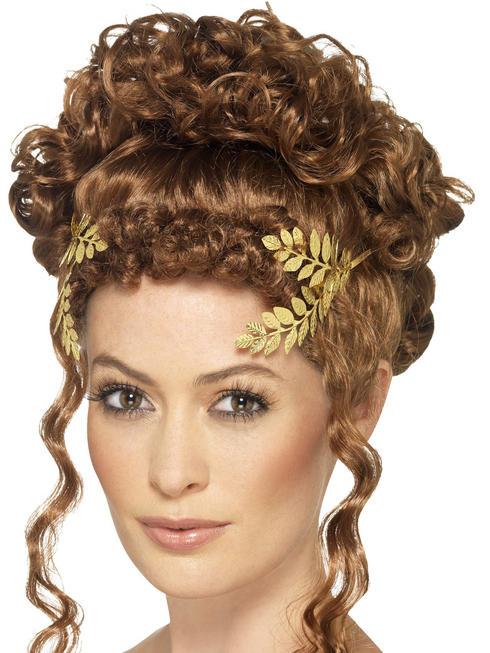 Gold Laurel Leaf Headpiece