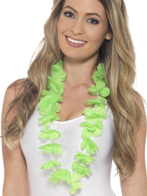 Green Hawaiian Lei
