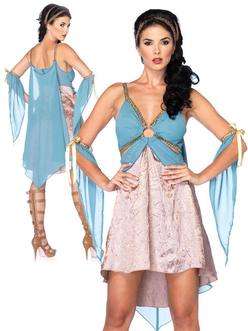 Ladies Golden Goddess Costume