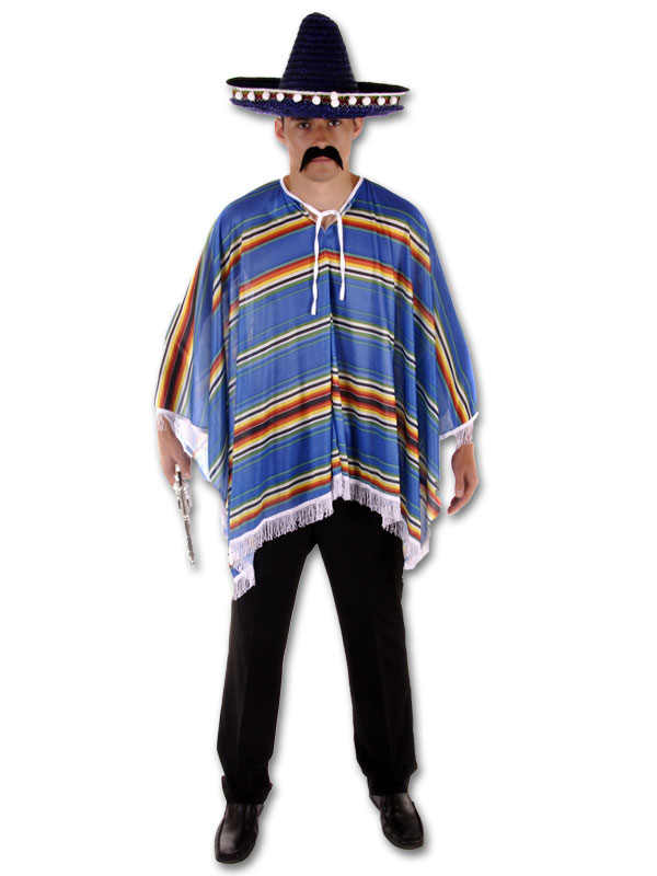 Mexican Poncho Costume