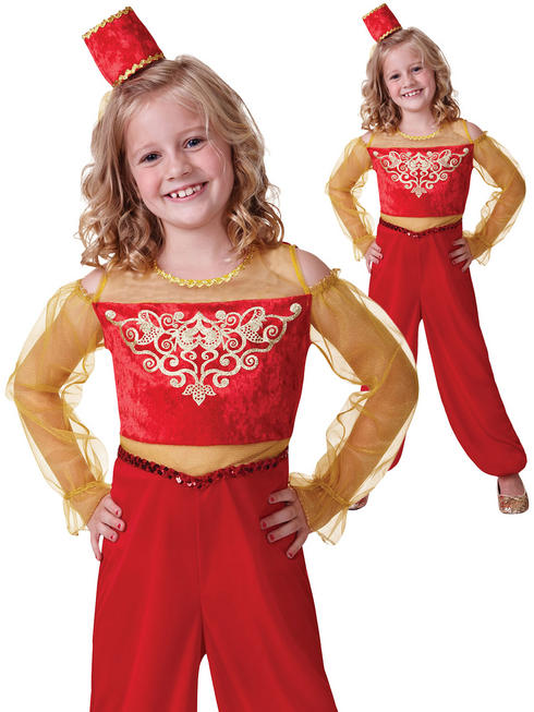 Girl's Princess Aladdin Costume