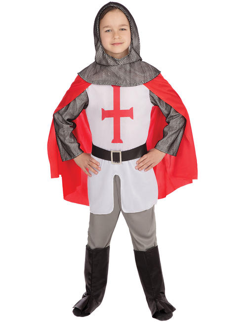 Boy's Crusader Knight Costume