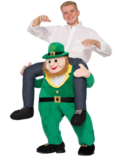 Adults Piggy Back Leprechaun Costume