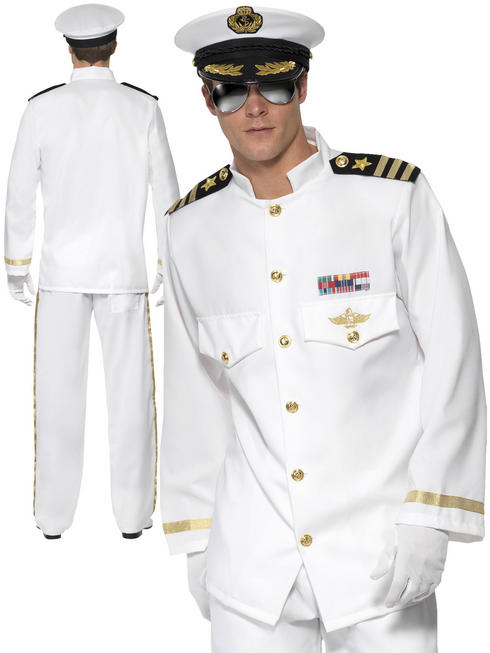 Men's Deluxe Captain Costume