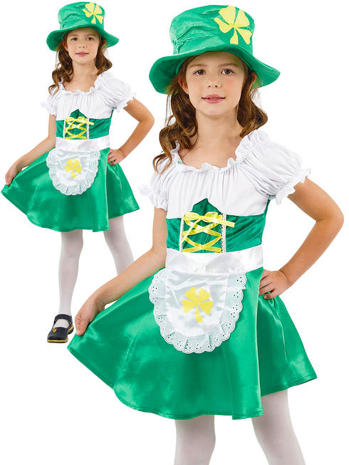 Girl's Leprechaun Costume