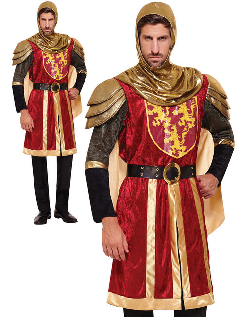 Men's Red Crusader Costume