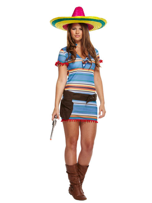 Ladies Sexy Mexican Costume