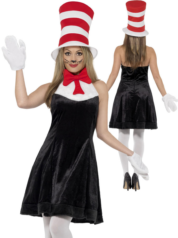 Ladies Cat in the Hat Costume