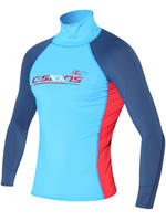 C-Skins Junior Blue Long Sleeve Rash Vest