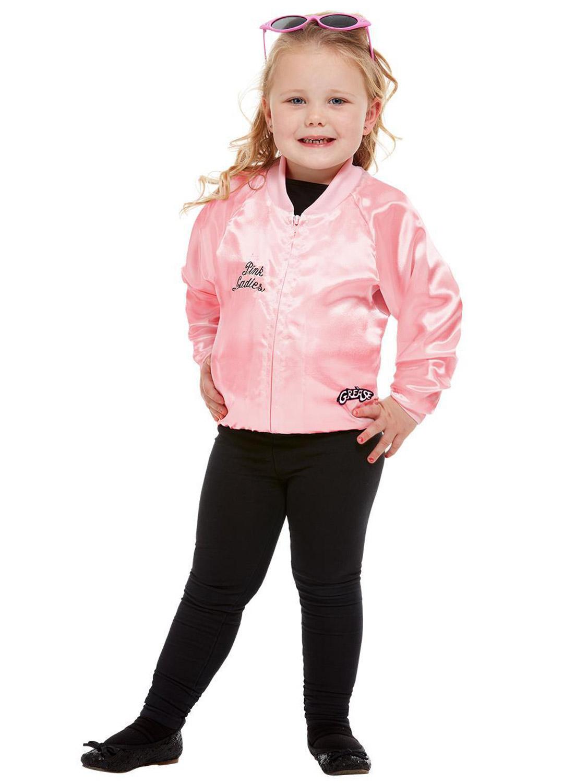 Détails sur Garçons Filles Officiel Grease T,birds Pink Ladies Veste années  50 Fancy Dress Costume, afficher le titre d\u0027origine
