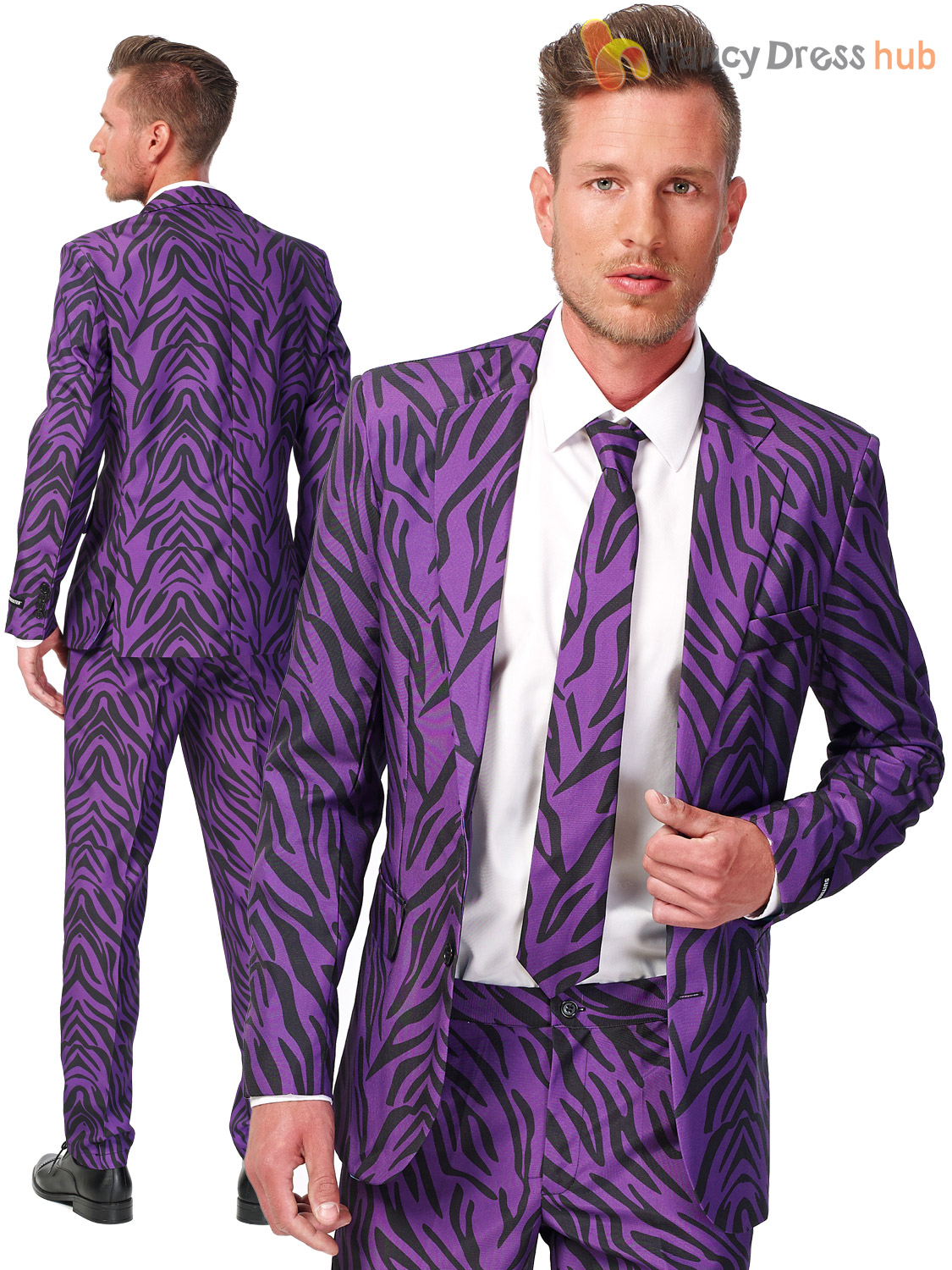 mens suitmeister novelty suit adults fancy dress stag do