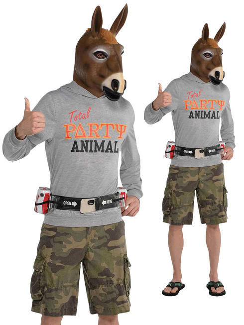 Men's Party Jackass Costume