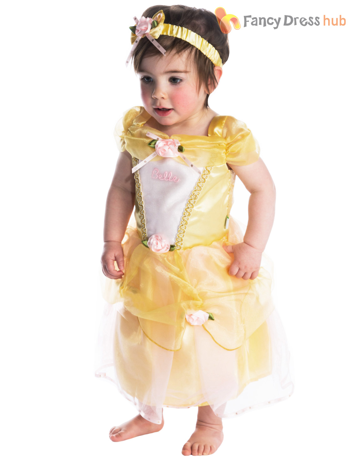 Baby Toddler Deluxe Disney Princess Costume Girl Fairytale Fancy ...