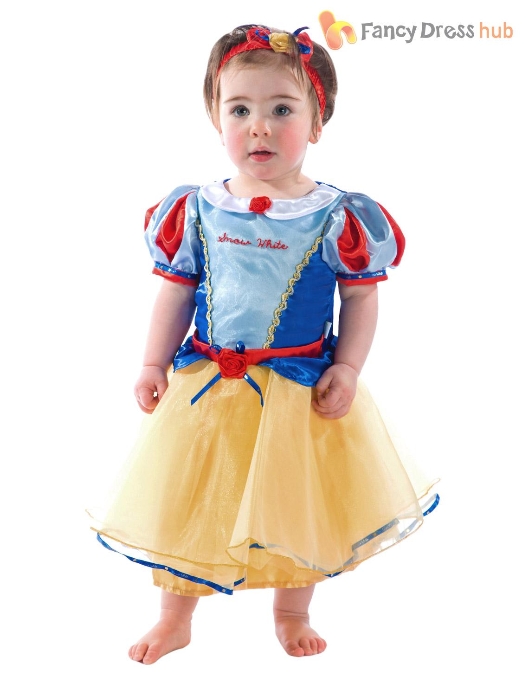 Baby Toddler Deluxe Disney Princess Costume Girl Fairytale ...